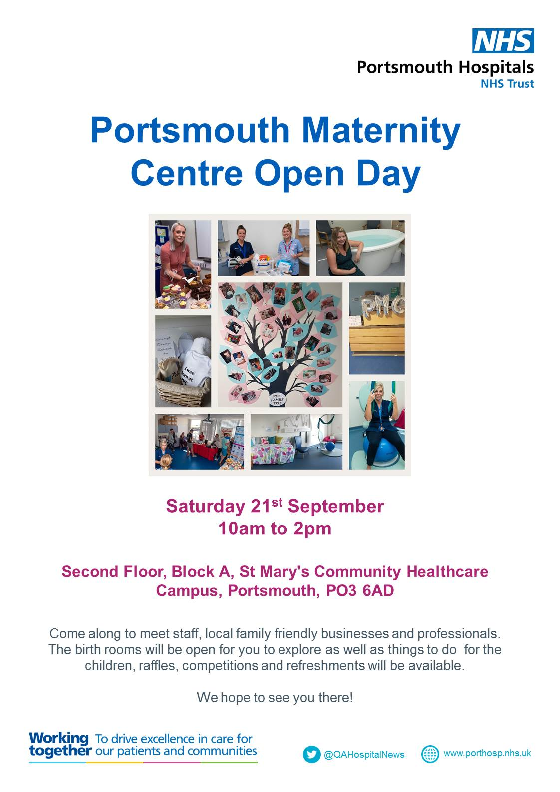 Portsmouth Maternity Centre to hold second annual open day