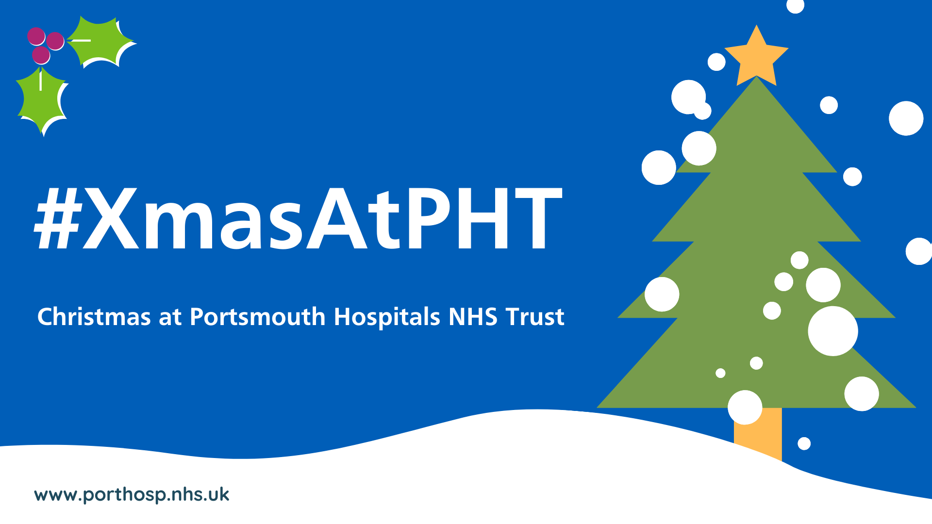 Christmas at Portsmouth Hospitals NHS Trust